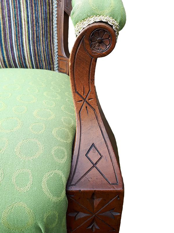 Close up detail on Granny Smith Chair