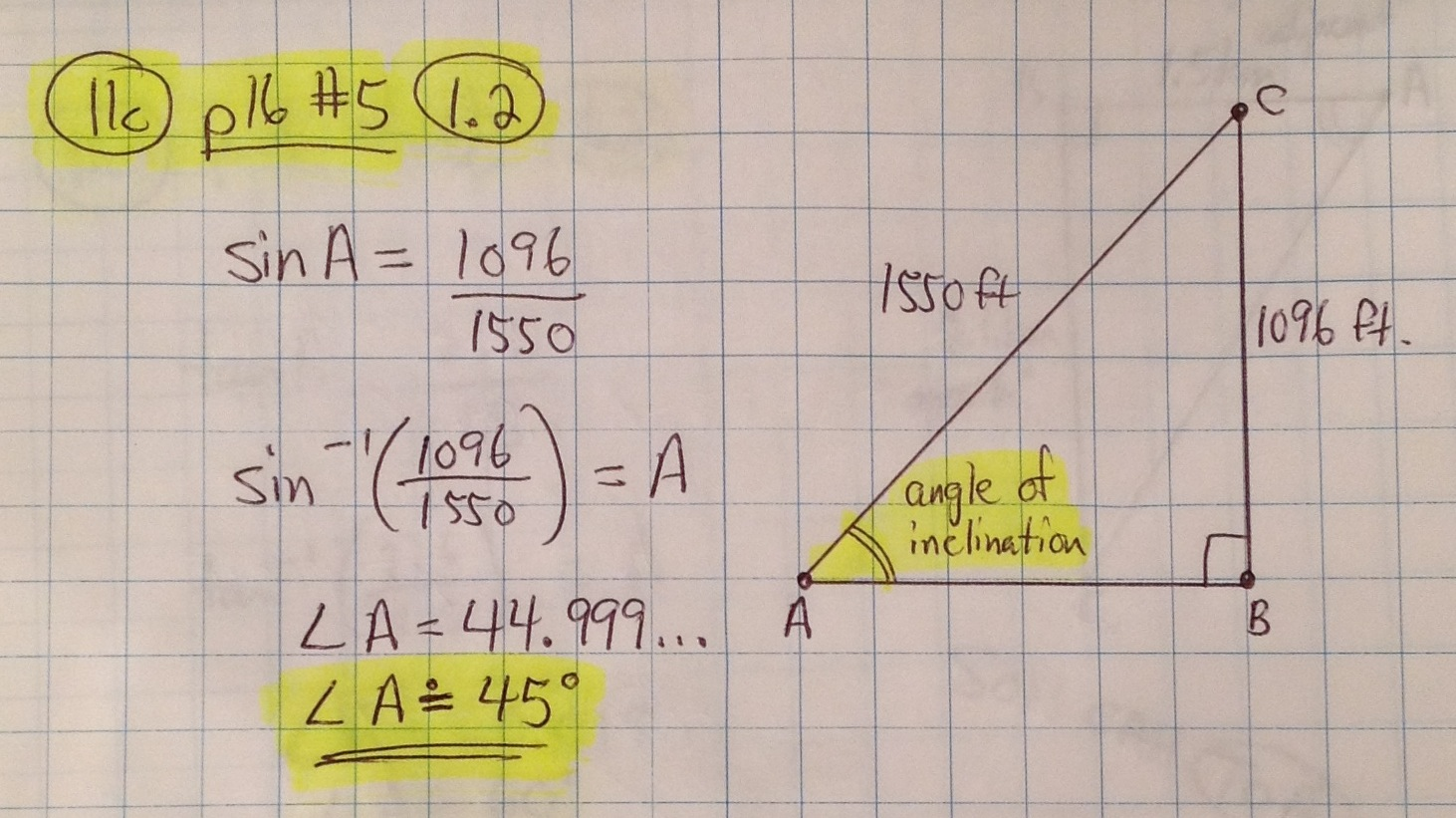 Sinusoidal Functions Word Problems Grade 11