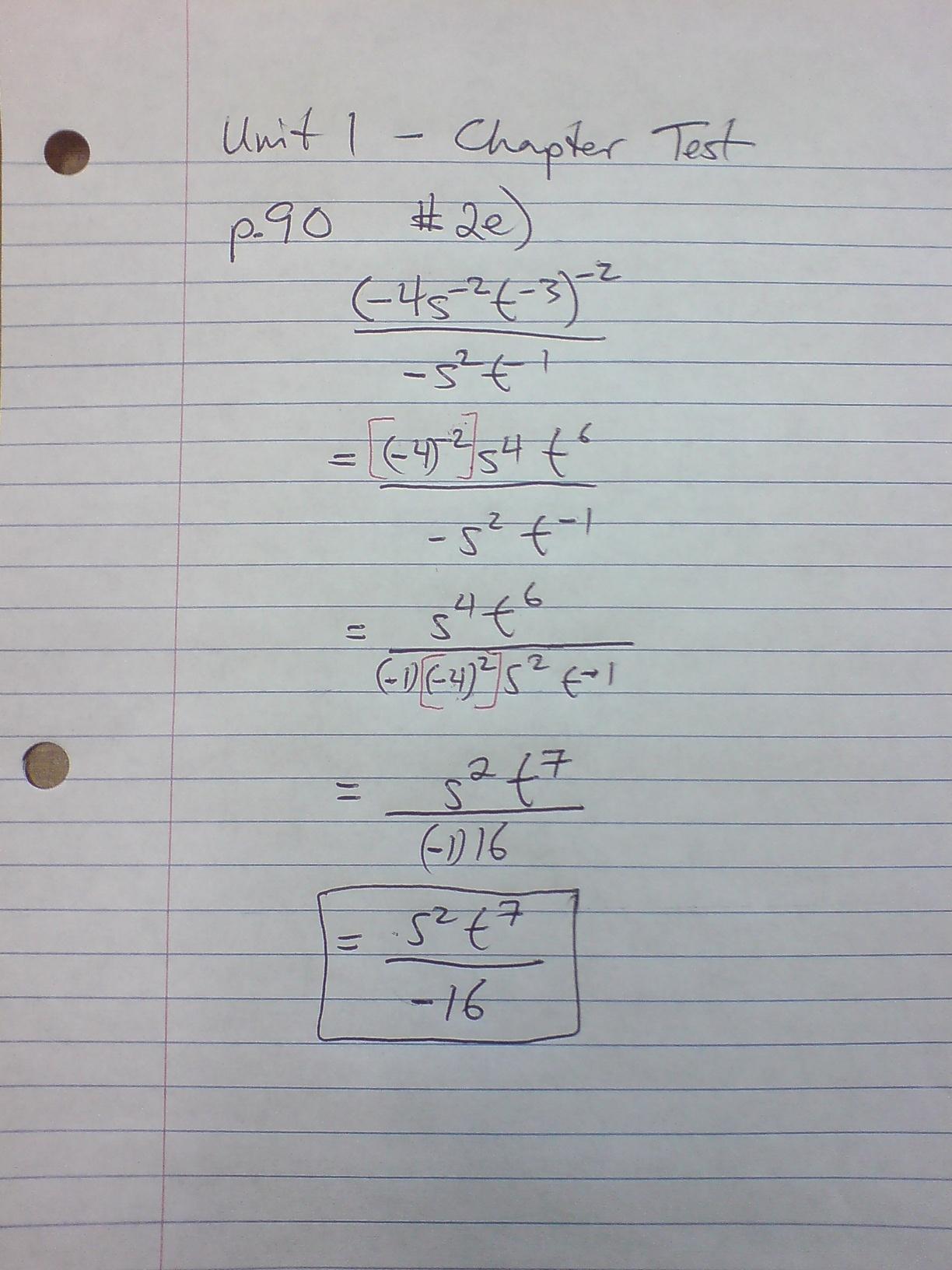Homework Help Grade 11