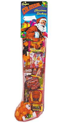 Deluxe 6ft Toy Filled Christmas Stocking Promotion