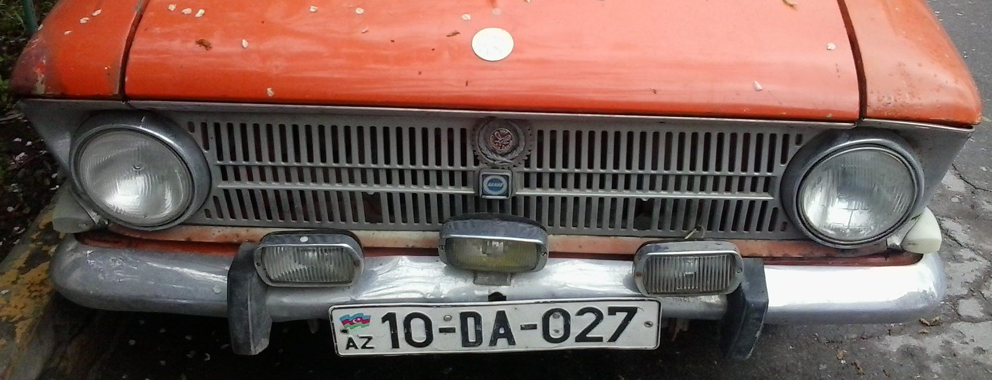 grill of a Sovet car