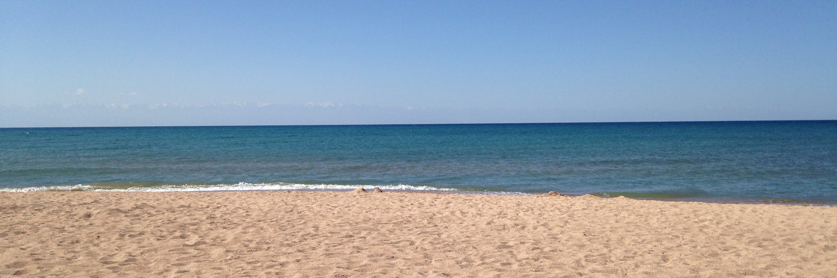 picture of a calm beach