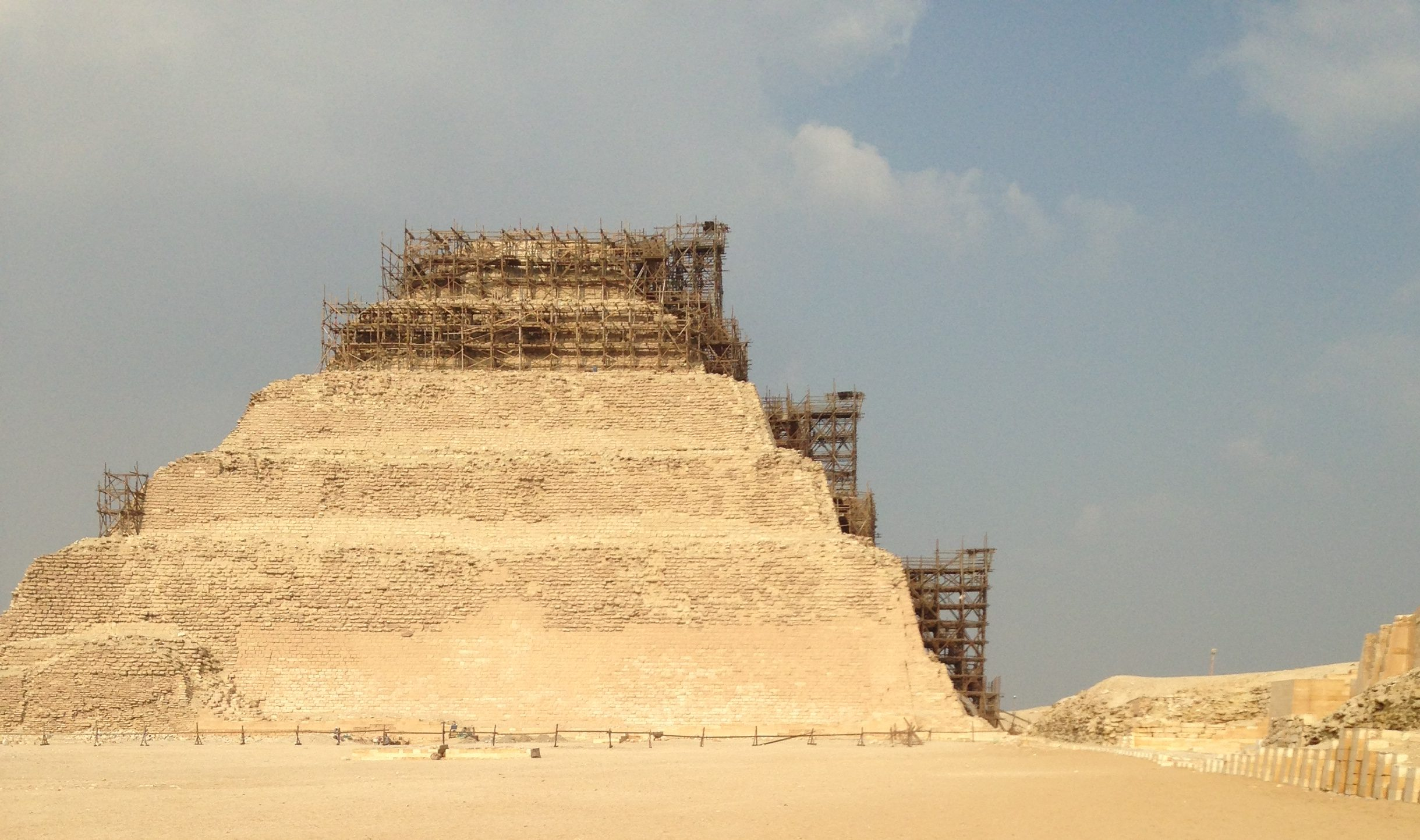 Sakkara pyramid in Egypt