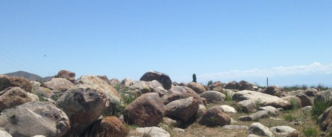 a rocky hilltop that honestly has nothing to do with management