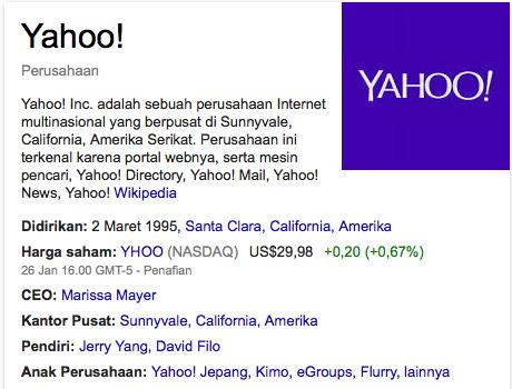 manfaat menggunakan mesin pencari Yahoo