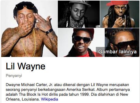 Lil Wayne pendapatan penyanyi terkaya versi majalah forbes
