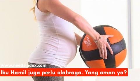 Olahraga yang Aman untuk Ibu Hamil