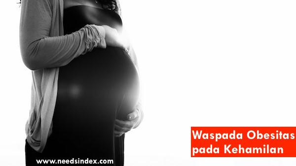waspada obesitas pada kehamilan