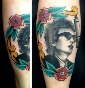 Amazing Bob Dylan Tattoos NSF