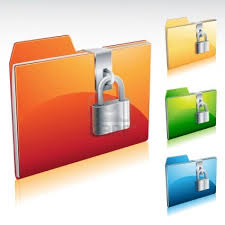 How to create password protected folders without using any software