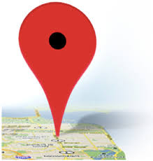 how to mark a place on google map