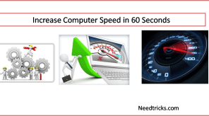 increase computer speed in 60 seconds