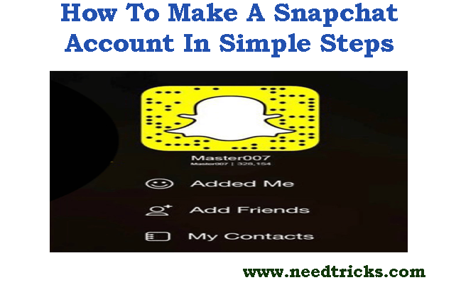 How To Make A Snapchat Account In Simple Steps