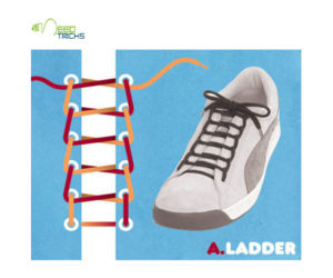 A.Ladder Shoe-laces