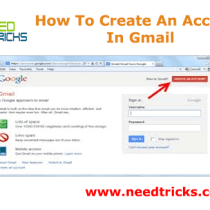 How To Create An Account In Gmail