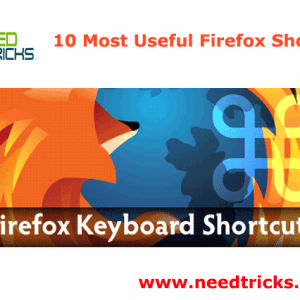 10 Most Useful Firefox Shortcuts