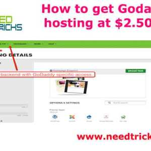 How to get Godaddy hosting at $2.50/m