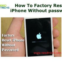 How To Factory Reset iPhone Without password