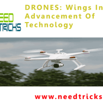 DRONES: Wings In The Advancement Of Technology