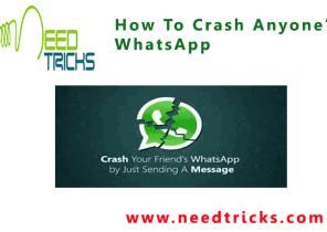 How To Crash Anyone's WhatsApp