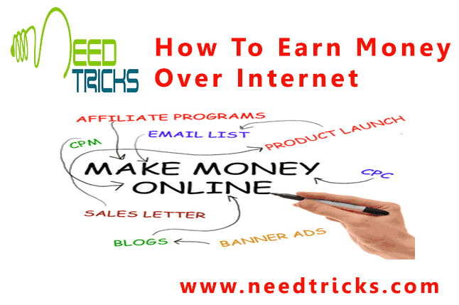 How To Earn Money Over Internet