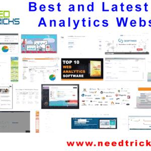 Best and Latest Web Analytics Website List