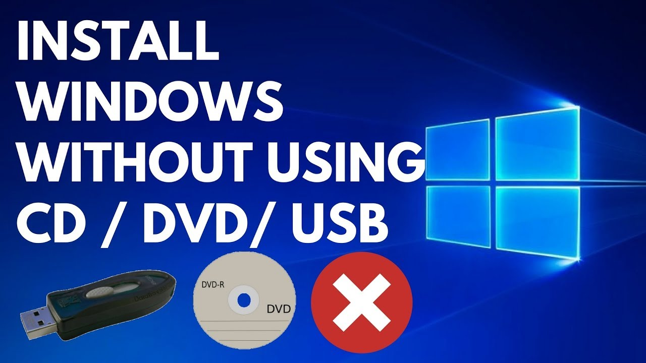 how to reinstall windows 7 without cd