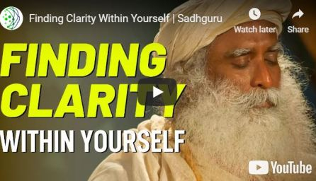 fiding clarity within self