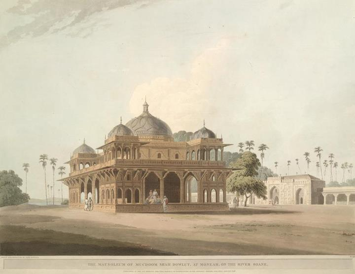A 1796 painting of Maner Sharif Dargah by Thomas D.jpg
