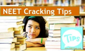 NEET 2017 Cracking Tips