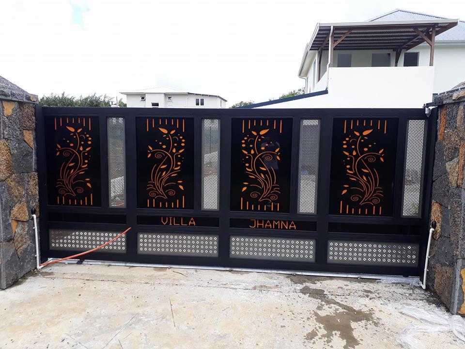Metal Gate Neetoo Mu Shop Mauritius