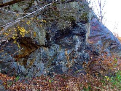 coal and graphite ledge