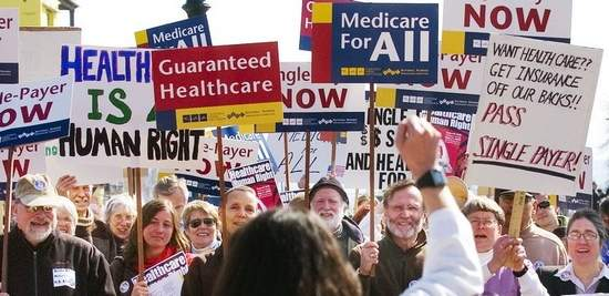 Image result for rally for health care