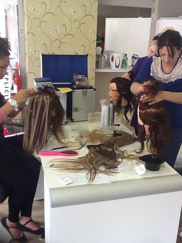Hair Extension Training School Amp Courses