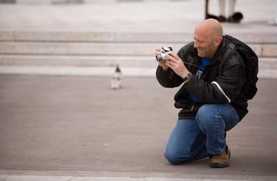 Φωτογράφος στο Σύνταγμα