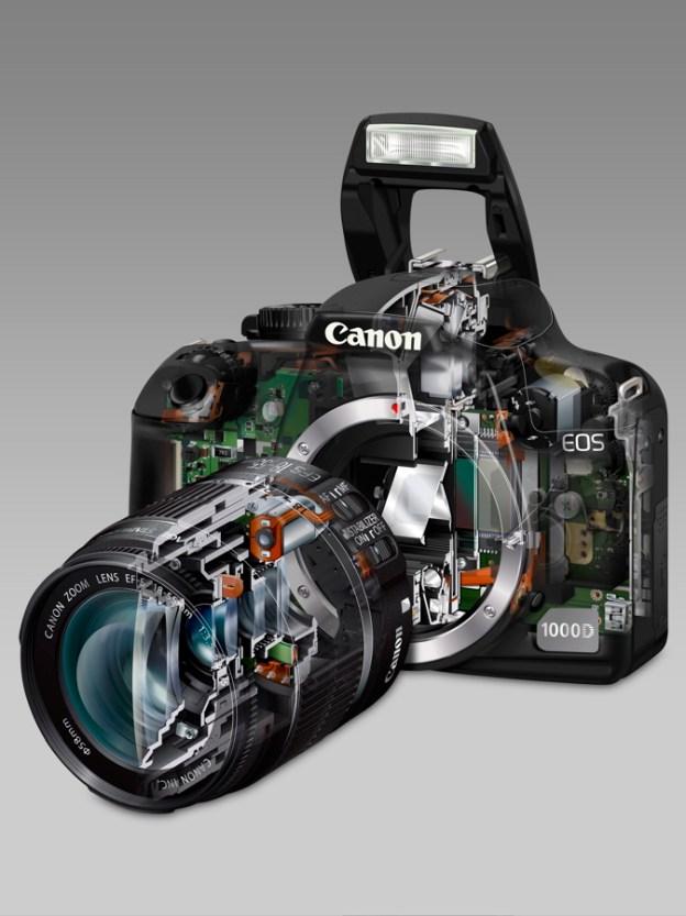 see-through image