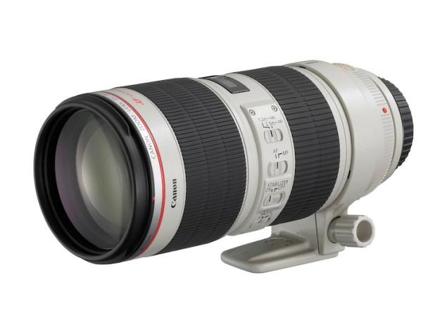 ZOOM LENS EF 70-200mm f2.8 L IS II USM FSL w CAP
