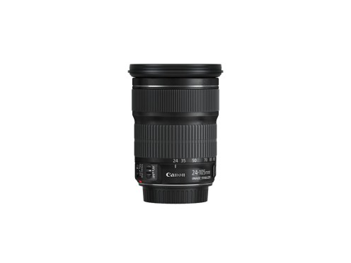 EF 24-105mm f3.5-5.6 IS STM Side with cap