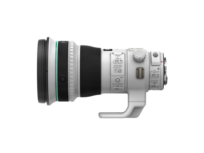 EF 400mm f4 DO IS II USM Side without cap