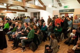 Audience at the 'Still' literary launch event