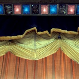 The Stage (Curtains) Roelof Bakker Still