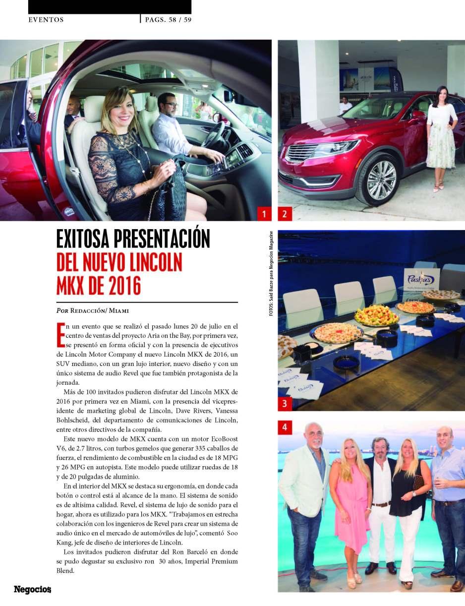Negocios magazine