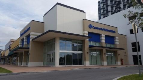La nueva sede de Continental National Bank.
