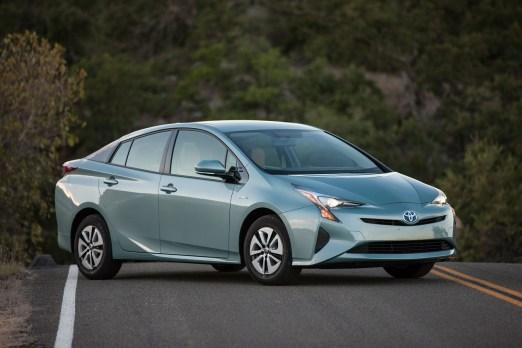 Nueva aerodinámica del Prius.