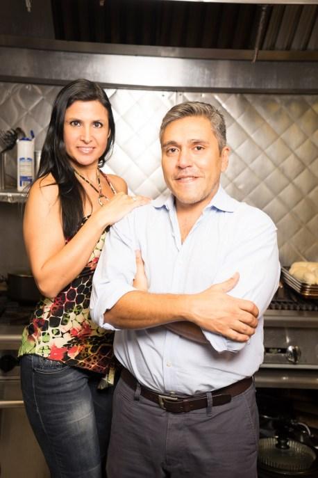 Verónica Fratto y Cristian Tempesta.
