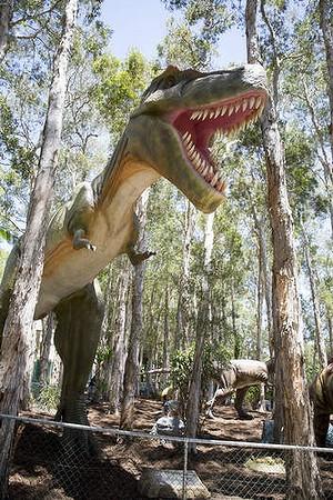 Clive Palmer's new dinosaur park, Palmersaurus at Coolum.