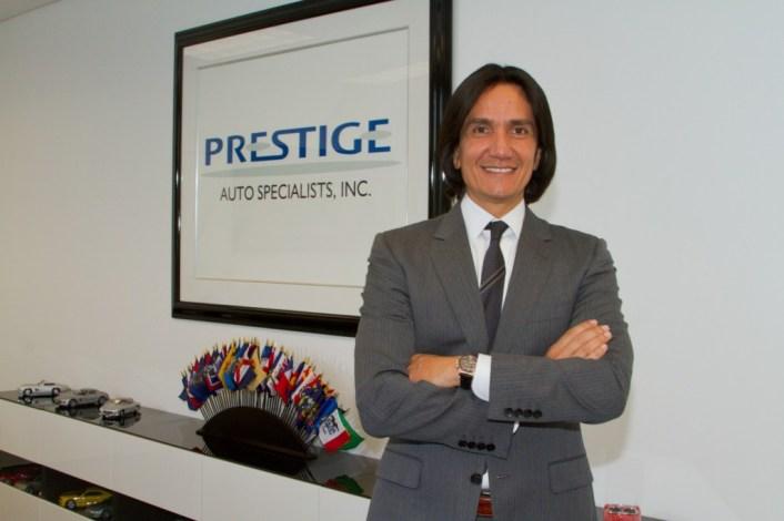 """""""Las personas que emigran de países Latinoamericanos vienen a luchar y construir un sueño sin importar las barreras"""", aseguró Marcello Serrato, presidente de Prestige Auto."""