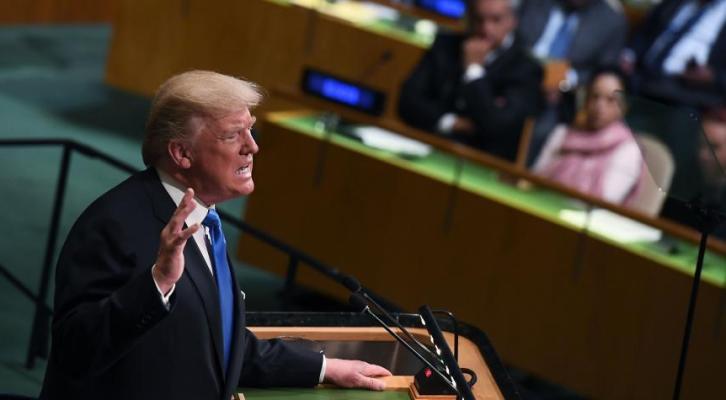 """TRUMP AMENAZA CON """"DESTRUIR TOTALMENTE"""" A COREA DEL NORTE, DESDE ASAMBLEA GENERAL DE LA ONU"""