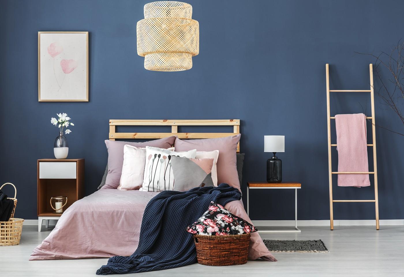 Colori pitture per pareti moderne le 10 migliori idee con. Pareti Colorate In Camera Da Letto Soggiorno E Cucina Abbinamenti E Scelte Di Stile