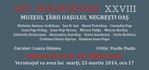 invitatie Buna Vestire 2014